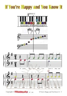 treble clef music sheets