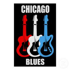 Chicago Blues Print