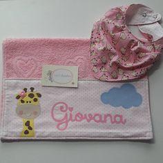 Produtos personalizados para bebê. Em patchwork e biscuit. Do jeitinho que a mamãe quer!