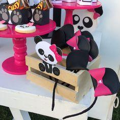 Panda Themed Party, Panda Birthday Party, Panda Party, Birthday Wishes, Birthday Parties, Panda Decorations, Panda Baby Showers, Reveal Parties, F21