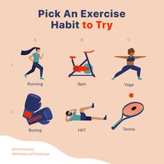 Exercise is just like any other habit! But that doesn't mean we all have to exercise the same way! 🤸🏿♀️ Tag a friend and tell them which… How To Have A Good Morning, Thing 1, New Life, Hiit, Self Care, Peace And Love, Journey, Wisdom, Exercise