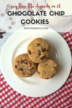 Here's the perfect chocolate chip cookie recipe for winning over your man's heart.  It has a chewy texture, complex flavour, and keeps well for a week.