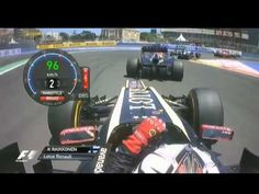F1 2012 - R08 - Battles and overtaking Valencia onboard