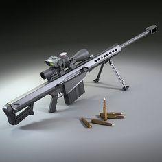 Armedkomando: Barrett M82, Barrett M107 50 Caliber Sniper Rifle