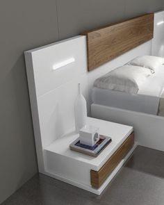 Bedroom bed design - Best Nightstand Ideas for Small Spaces
