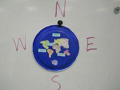 Continenti serviti - continents-on plate