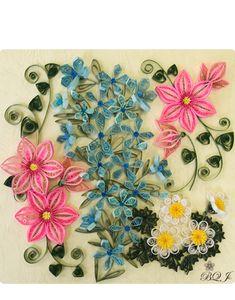 botanical quilling:インストラクターギャラリー
