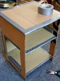 schrank mit zeitungspapier beklebt diy selbermachen weiteres unter. Black Bedroom Furniture Sets. Home Design Ideas