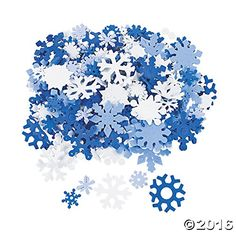 Add a touch of holiday charm to your Christmas craft projects and Christmas craft activities for kids with these foam snowflakes. Each set of 400 pieces will . Snowflake Template, Snowflake Craft, Snowflake Shape, Snowflakes, Snowflake Centerpieces, Snowflake Decorations, Hanging Decorations, Centerpiece Ideas, Holiday Decorations