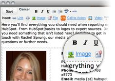 Update your website pages easily - add images, links, fonts, etc. http://www.hubspot.com/products/lead-generation/