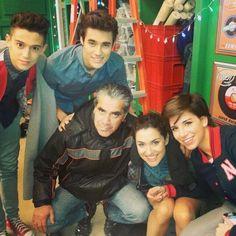 Ruggero,Jorge,Alba y Macarena.