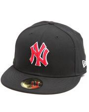 aa8fb759120 New York Yankees MLB Basic 5950 fitted hat Bad Hair Day