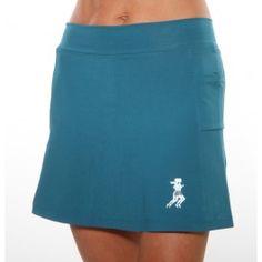 Lagoon Turquoise Athletic Skirt @ runningskirts.com
