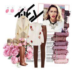 """my style"" by cerqueiratarsila on Polyvore featuring moda, Urban Decay, SET, Burberry, Ashish e Gucci"