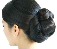 Elegant bun hairstyle for wedding #hairstyles #trend #bob