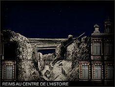 mapping video historique sur Reims au centre de l'histoire avec Robert Hossein et Christophe MARLARD