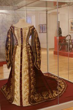 Russian court dress circa 1900