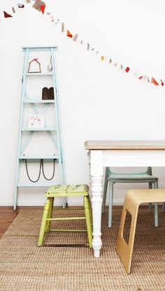 The table: refurb idea for our old wooden dining table?