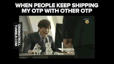 coz one does not simply mess with others' otp.
