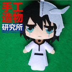Anime Bleach Ulquiorra cifer Cute DIY toy Doll keychain New material $17.10