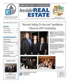 Feb. 2007 SCAOR Newsletter Cover Design http://dixongraphics.com/portfolio_newsl.htm