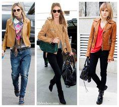 「leather jacket styles」の画像検索結果