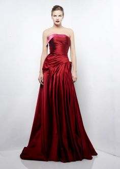 Beautiful Red Full Length Gown