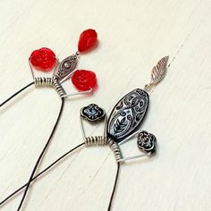 Mich L. in L.A.: Turn Clothespins Into Wirework Jewelry! (No Tools Needed.)