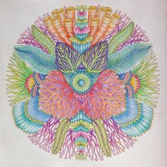 Coral Mandala Enjoyed Doing This