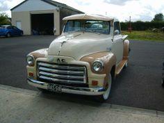 1954 vintage GMC truck