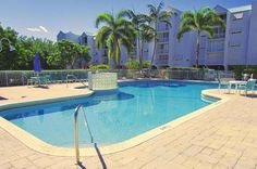 "Large Swimming Pool - Key West Top Floor Condo ""Seaside Breeze"" -Monthly -  - rentals"
