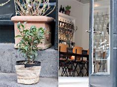 Atelier SeptemberGothersgade 1123 København K, Denmark Copenhagen Style, Vintage Stil, Antique Shops, Beautiful Space, Denmark, Ladder Decor, September, Modern Design, Antiques