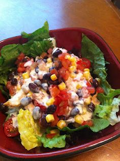 The Road to Healthified: Southwest Chicken Salad