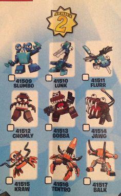 LEGO Mixels Series 2 by tormentalous, via Flickr