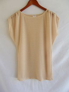 Simple Dolman top sewing tutorial @ Morning by Morning Productions.blogspot.com