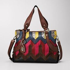 Fossil Brand Maddox Patchwork Convertible Tote Works with almost every outfit. Can be used with long strap or the double handle. Smoke free home! Only carried for 4 days! Fossil Handbags, Fossil Bags, Diy Bags Purses, Pink Brown, Convertible, Shoulder Bag, Baggage, Leather Bags, Things To Sell