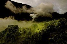 Mount Papandayan Volcano, Indonesia