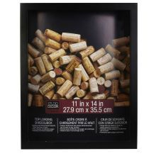"Studio Décor Top-Loading Black Shadowbox, 11"" x 14"""