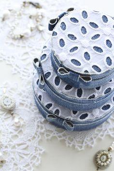 洋服リメイクの簡単カルトナージュルピシアの紅茶缶に貼ってみよう