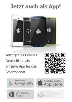 davines Deutschland jetzt auch für das Smartphone #mobil #app