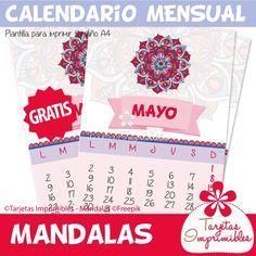Descarga gratis el Calendario de Mayo