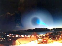 ▶ Strange Spiral light phenomena over Norway coincides with Obama peace prize reception - YouTube