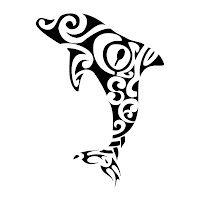 com img src http www tattoostime com images 493 tribal maori dolphin Kiwi Tattoo Designs, Body Art Tattoos, Tribal Tattoos, Maori Symbols, Dolphins Tattoo, Petit Tattoo, Totenkopf Tattoos, Maori Designs, Hawaiian Quilts
