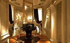 SANTO PASSAIA creation - Island vanity in the bathroom. So beautiful...