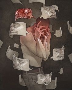 'Masks' by Wylie Beckert
