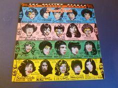 The Rolling Stones Some Girls Vinyl Record SKPB-109 by mdgiftart