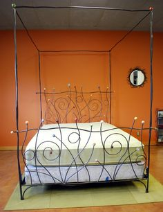 Funkiest most Dr Seussian bed EVER. Practical? Not at all.. the accidents that could take place are terrifying.