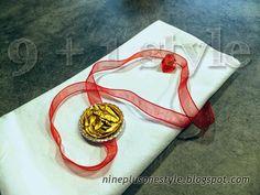 Portatovagliolo per le feste con le cialde Nespresso - Napkin ring holder for Christmas time with Nespresso capsules