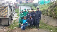 20-03-14 Limpieza del Parque barrio Atanasio Girardot con Operarios, vigías del medio ambiente y la Coordinación de las áreas operativa y gestión comunitaria.