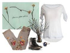 """""""meet me in our next life"""" by lealeo ❤ liked on Polyvore featuring H&M and Andrea Fohrman"""